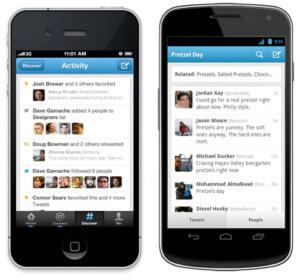 صورة تطبيق تويتر